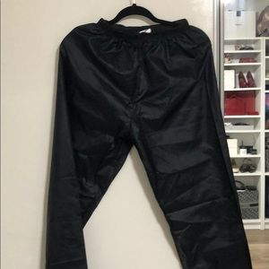 NWOT Body Wrappers trash bag pants